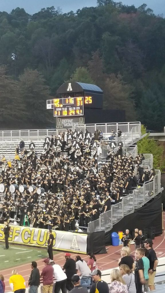 Final Score of the Appalachian State Homecoming Game