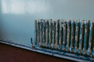 Old Heating Radiator