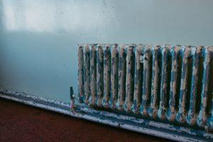 Old Heating Radiator