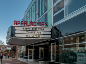 The Facade of the Appalachian Theatre