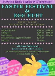 Blowing Rock Easter Egg Hunt