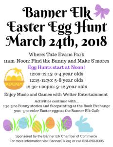 Banner Elk Easter Egg Hunt
